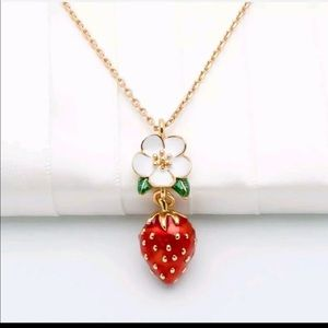 NWT Kate Spade Strawberry Necklace